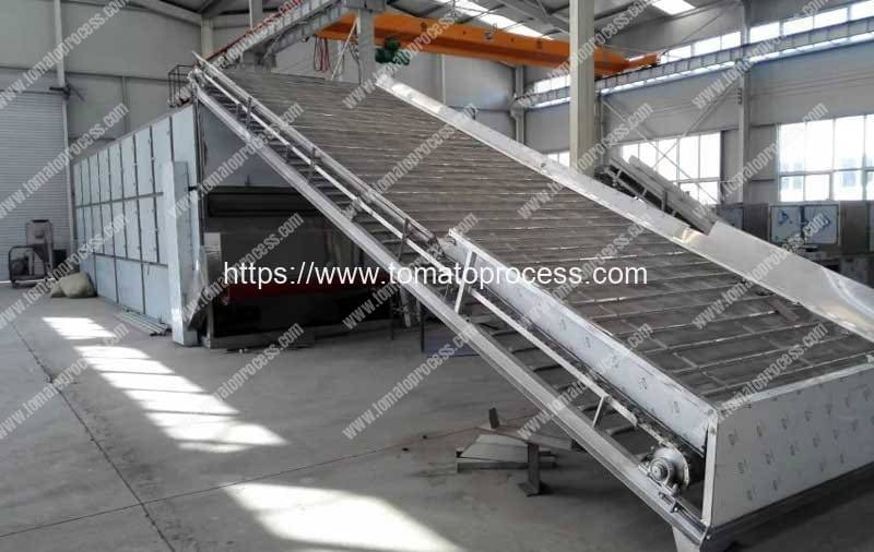 Continuous-Working-Mutli-Belt-Type-Tomato-Chips-Dryer-Machine