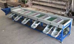 Rotary Drum Type Tomato Size Sorting Grading Machine
