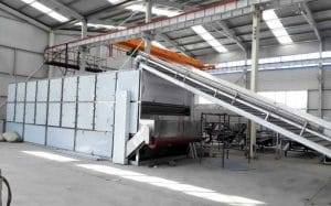 Full Auotmatic Tomato Chips Multi-Layer Belt Dryer Machine