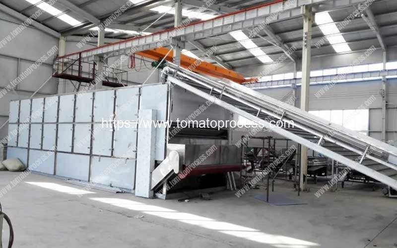 Full-Automatic-Multi-Layer-Tomato-Chips-Dryer-Machine