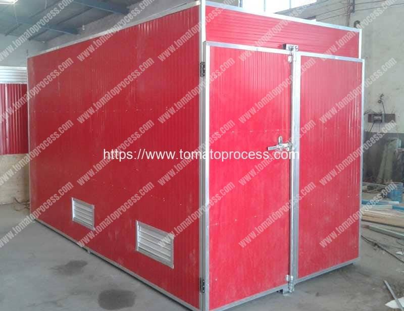 Natural-Gas-Fired-Batch-Type-Tomato-Chips-Dryer-Oven