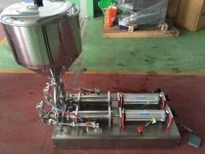 Semi-Automatic-Double-Head-Tomato-Sauce-Volume-Filling-Machine