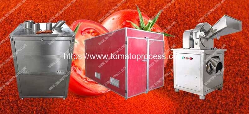 Semi-Automatic-Tomato-Powder-Production-Line