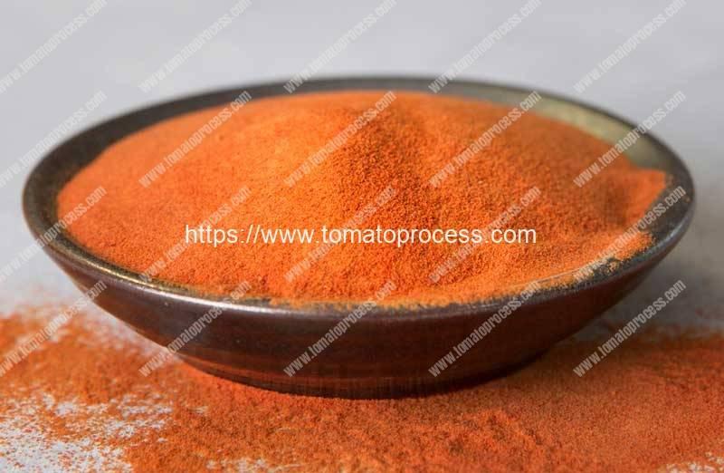 Spray-Type-Tomato-Powder-Dryer