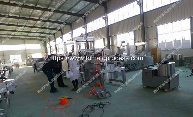 Tomato-Ketchup-Sauce-Making-Machine-Manufacture-Factory-Visit-Romiter-Machinery
