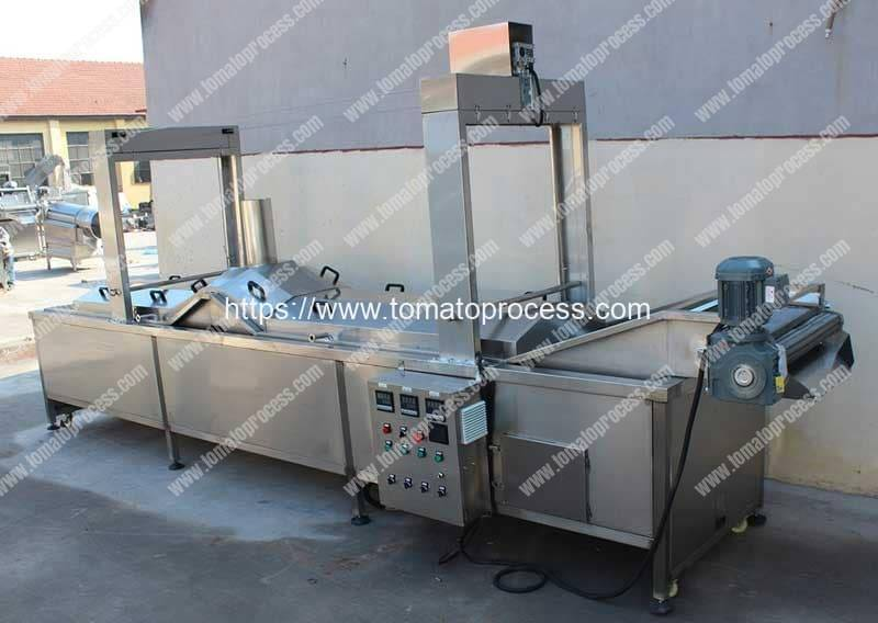 Automatic-Tomato-Hot-Water-Blanching-Machine