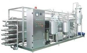 Ultra High Temperature UHT Tomato Sauce Tube Sterilizer Machine