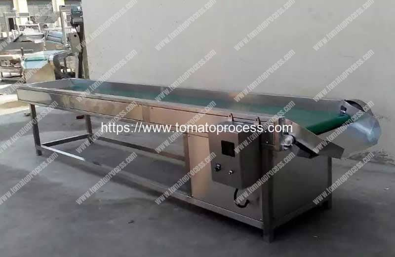 Tomato Quality Selection Conveyor