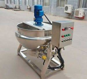 Automatic Jacketed Kettle with Stirrer