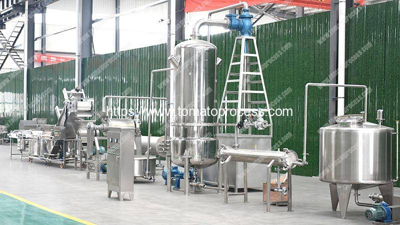 Automatic-Concentrate-Tomato-Paste-Production-Line