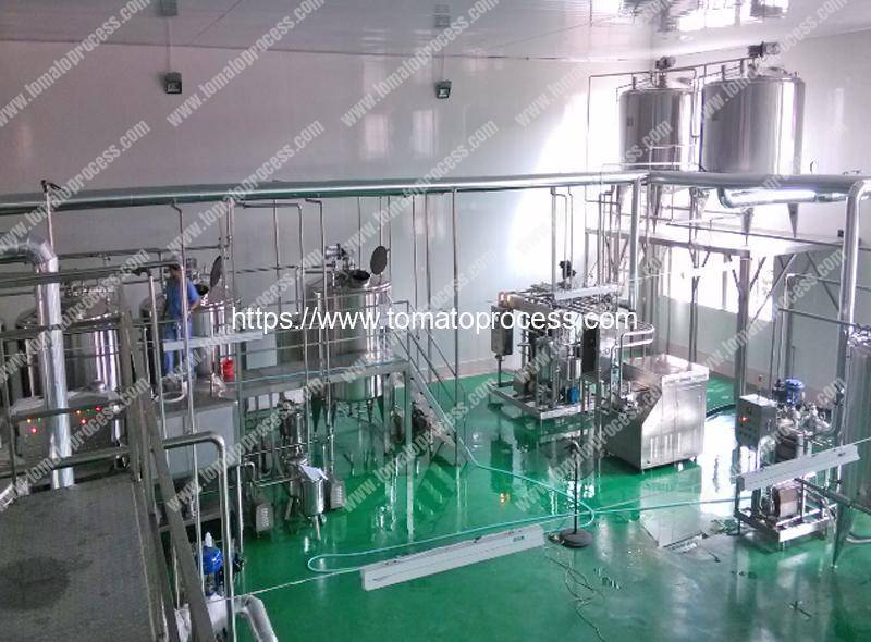 Full Automatic Concentrate Tomato Paste Production Line