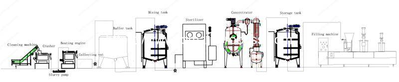 Simple-Concentrate-Tomato-Paste-Production-Line