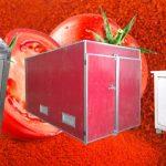 خط إنتاج مسحوق الطماطم شبه الأوتوماتيكي
