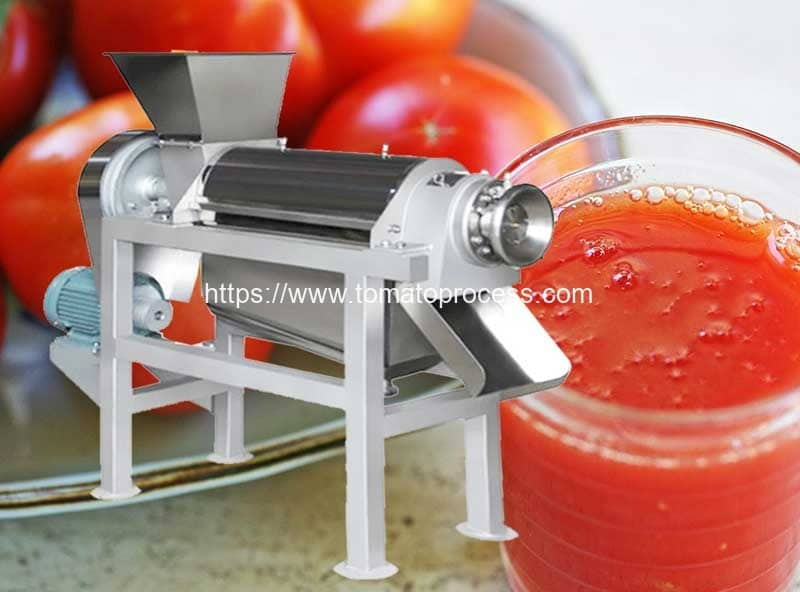 Spiral-Type-Tomato-Juice-Extracting-Making-Machine