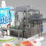 Automatic Tomato Sauce Nozzle Bag Filling Capping Machine