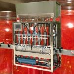 Automatic Tomato Sauce Bottle Filling Machine