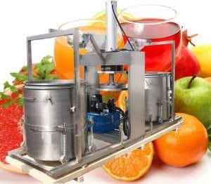 Double-Drum-Hydraulic-Type-Tomato-Juice-Pressing-Squeezing-Machine